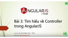 AngularJS căn bản - Bài 3 Binding đối tượng từ Controller ra View