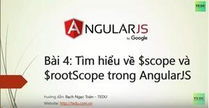 AngularJS căn bản - Bài 4: Biến $scope và $rootScope