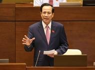 Bộ trưởng Đào Ngọc Dung Luật chỉ điều chỉnh 5 hình thức lao động theo hợp đồng